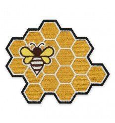 Prometheus Design Werx | Honey Bee Honeycomb Morale Patch