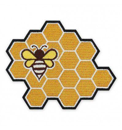 Prometheus Design Werx   Honey Bee Honeycomb Morale Patch