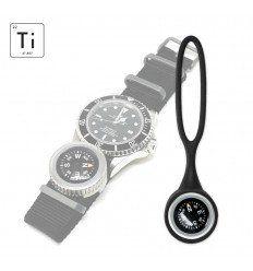 Prometheus Design Werx | Expedition Watch Band Compass Kit Ti