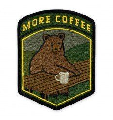 Prometheus Design Werx | More Coffee Bear Morale Patch