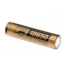 Clawgear | 18650 Battery 3.7V 2600mAh Micro-USB
