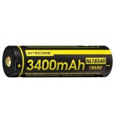 Nitecore | Batterie 18650 Li-ion (3400mah)
