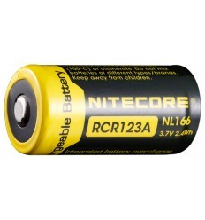 Batterie RCR123A Li-ion Rechargeable