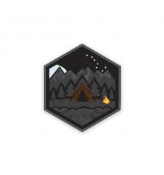 Prometheus Design Werx | All Terrain Campsite Night Mini-Sticker