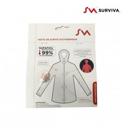 Surviva | Veste de survie Isothermique
