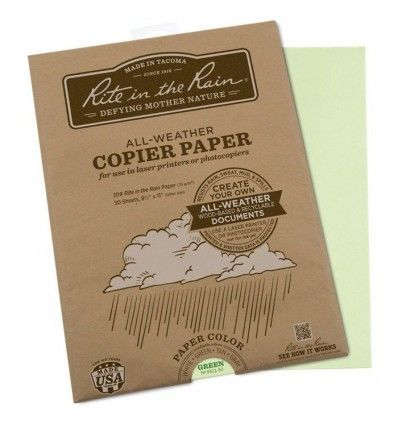 Rite in The Rain Copier Paper 50 Sheets - outpost-shop.com