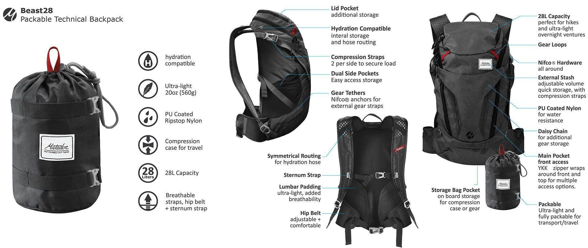 Matador Beast 28 backpack - outpost-shop.com